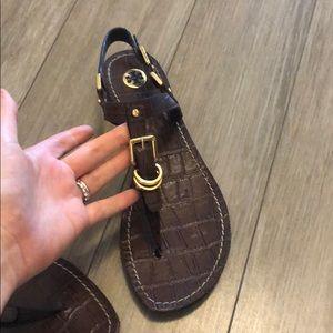 Tory Burch brown sandals